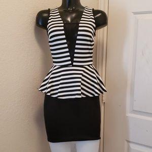 Cameo Mini Dress